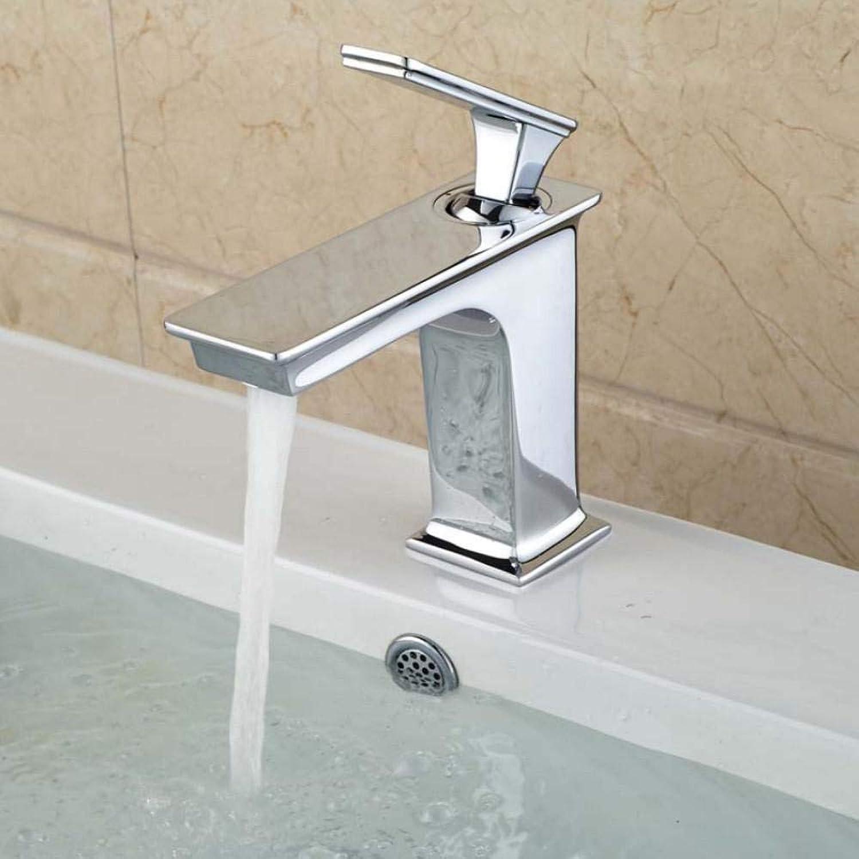 Hiwenr Bad Waschbecken Mischbatterie Einzigen Handgriff Heies Und Kaltes Wasser Wasserhahn Quadratische Waschbecken Waschbecken Wasserhhne