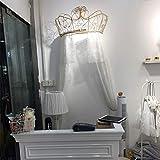 HOMEJYMADE Dome moskitonetz Krone,Prinzessin Bett vordächer Kinder Spiel Haus Prinzessin Zelt mit Glitzernden Sternen HEIß IN Instagram-F 2.0m