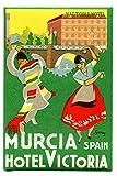 PostersAndCo TM Murcia Hotel Victoria