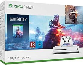 Microsoft Xbox One S - Consola 1 TB + Battlefield V