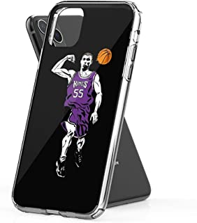 Crystal Clear Phone Cases Jason Williams White Chocolate Basketball Case Cover Compatible for iPhone (11 Pro Max)