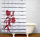 GYMNLJY Nach Hause Polyester wasserdicht Duschvorhang Bad Dekoration Bad Dusche Vorhang Blackout abgeschnitten hängenden Vorhang 180 * 200 cm , 4 , 180*200cm