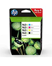 HP 963XL 4-pack High Yield Black/Cyan/Magenta/Yellow Original Ink Cartridges