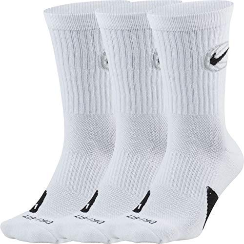 Kit de Meias Nike Crew Everyday BBALL 3 Pares