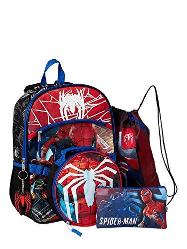 "Marvel Gamerverse 15"" Kid's Spider-Man School Backpack, Black"