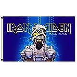 APFoo Iron Maiden Flag Banner Size 3X5 Feet Man Cave Decor