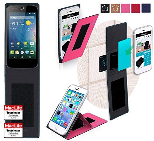 reboon Hülle für Acer Liquid Z330 Tasche Cover Case Bumper | Pink | Testsieger