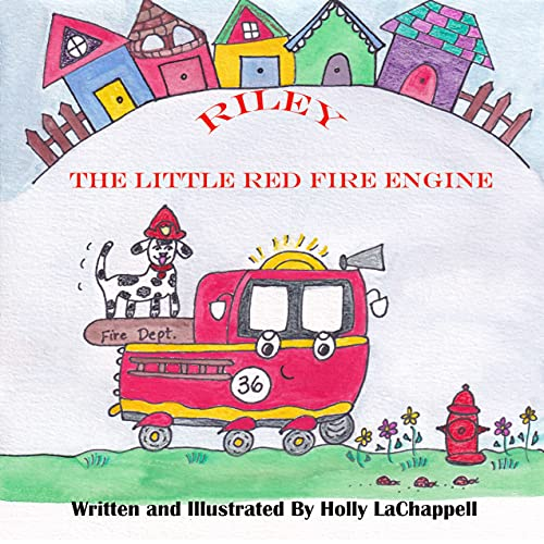 Riley, The Little Red Fire Engine (English Edition)