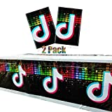 2PCS Tik Tok Party Table Cloth, ...