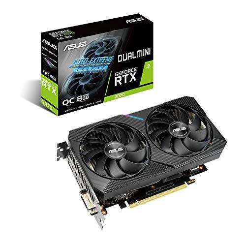 ASUS NVIDIA GeForce RTX 2070 DUAL-RTX2070-O8G-MINI