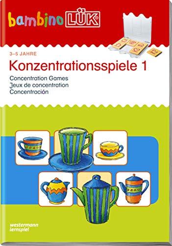 bambinoLÜK-Übungshefte / Kindergarten: bambinoLÜK: Konzentrationsspiele 1: 3 - 5 Jahre (bambinoLÜK-System, Band 105)