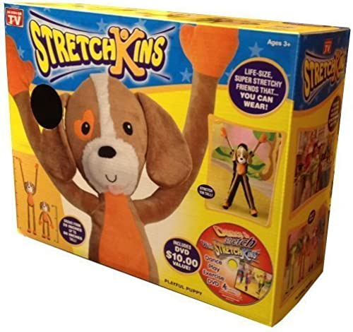 Stretchkins Dog Life-Größe Plush Toy That You Can Play, Dance, Exercise and Have Fun With by Strecthkins by Strecthkins