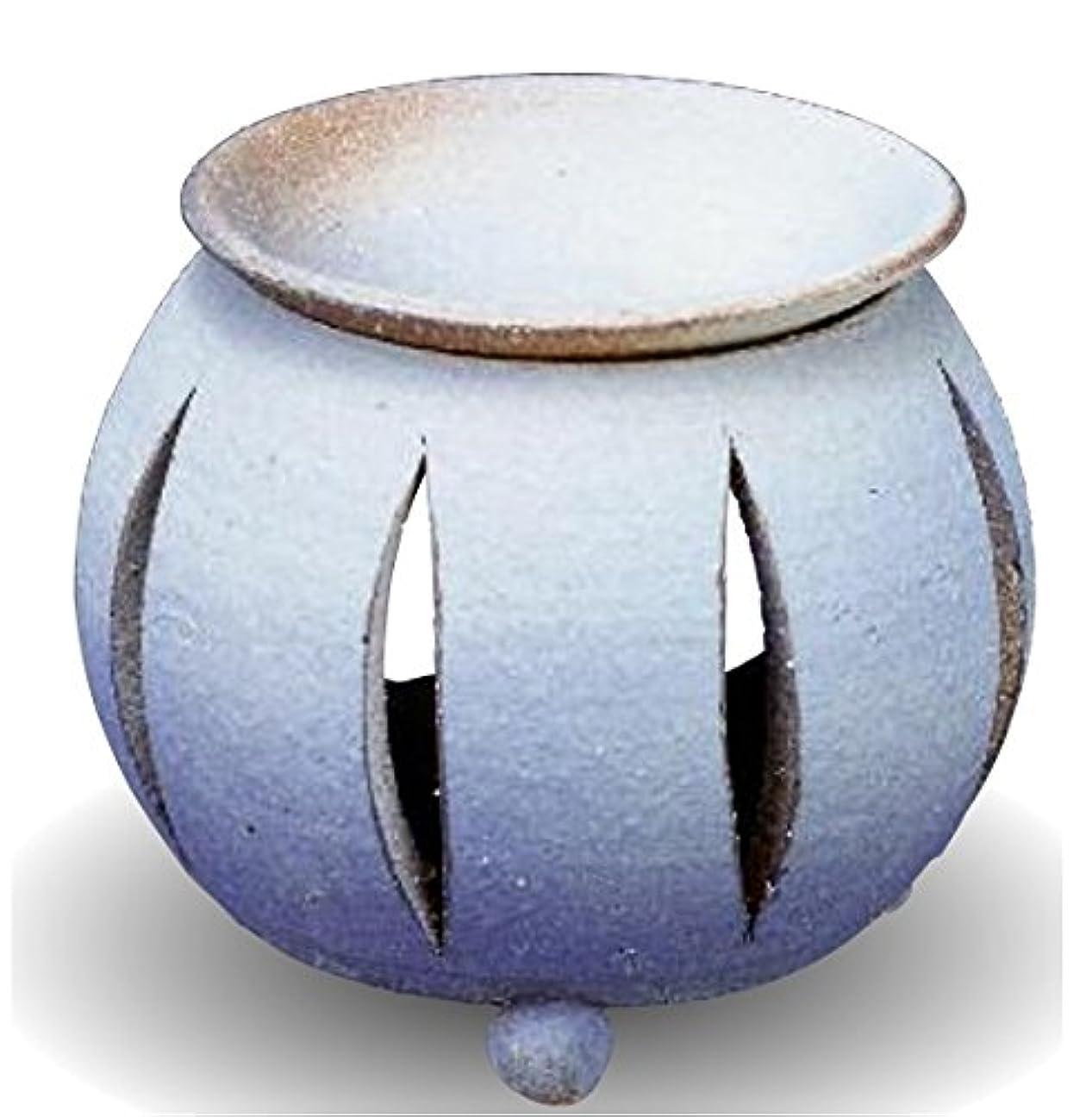 トレイル主人マーティフィールディング常滑焼 茶香炉(アロマポット)径10×高さ11.5cm