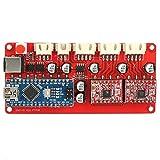 Placa controladora de placa de controlador de la placa madre controlador de la máquina de grabado láser con T tipo cable