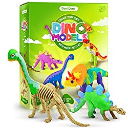 4. Dan&Darci Create Your Own Dino Models with Modeling Clay Kit