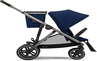 CYBEX Gazelle S Stroller, Modular Double Stroller for Infant and Toddler, Includes Detachable Shopping Basket, Over 20+ Co...