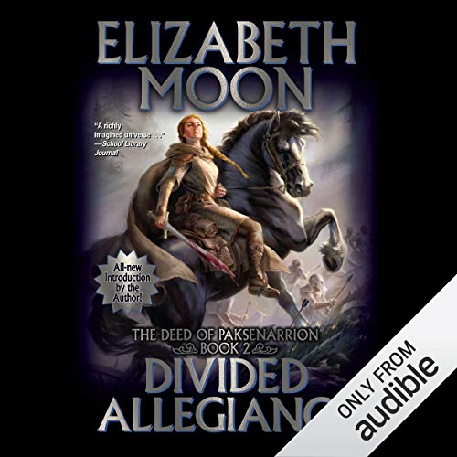 Divided Allegiance audiobook cover art