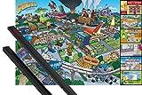 1art1 Die Simpsons Poster  91x61 cm  Locations Ink