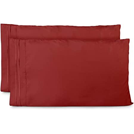 Cosy House 1500 Ultra Soft Pillow Case Set of 2 Standard or King Size Pillowcase