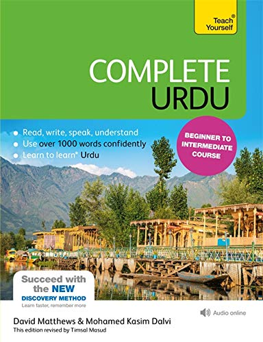 Compare Textbook Prices for Complete Urdu Beginner to Intermediate Course: Learn to read, write, speak and understand a new language Teach Yourself Language 5 Edition ISBN 9781444195941 by Matthews, David,Kasim Dalvi, Mohamed