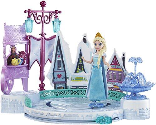 Mattel Disney Princess DFR88 - Minipuppen und Zubehör - Die Eiskönigin Eislaufspaß mit ELSA