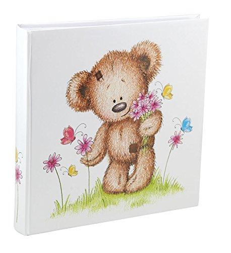 IDEAL Cat & Bears Fotoalbum 30x30 cm 100 weiße Seiten Baby Kinder Foto Album Fotobuch: Farbe: Schmetterling