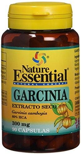 NATURE ESSENTIAL Garcinia Cambogia 60% HCA -90 capsulas- Pérdida de Peso acelerada- La Original