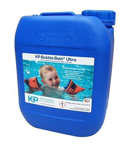 KP-Bubble Bath® Ultra Chlorfreies Wasseraufbereitungsmittel 11,9% H2O2 für Pool und Planschbecken (5.000 ml)