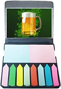 Beer Ireland St.Patrick's Day Self Stick Note Color Page Marker Box