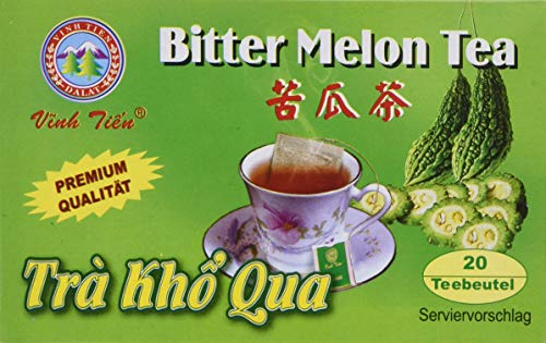 Vinh Tien Bitter Melonen Tee, 2er Pack (2 x 40 g Packung)