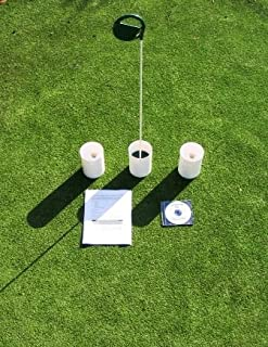 TJB Practice Putting Green - Natural or Synthetic - Accessory Kit - (3) 6