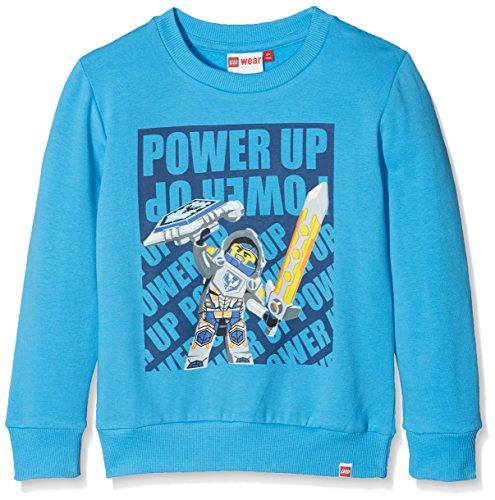 Lego Wear Jungen Lego Boy Nexo Knights Sebastian 102-Sweatshirt Sweatshirt, Blau (Blue 538), 152