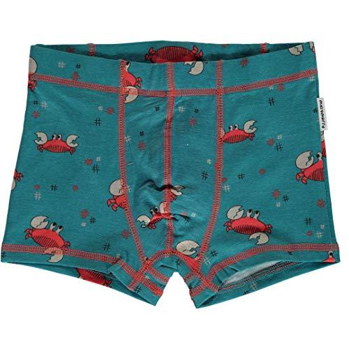 maxomorra Jungen Boxershorts/Unterhose mit Krabben Größe 74/80