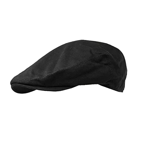 Failsworth Hats Wax Flat Cap Earland Brothers - Black Wax 0e68396b358