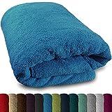 SCHADSTOFFFREI: Das Sauna Handtuch hat eine erstklassige Qualität. Es ist Schadstoffgeprüft und Zertifiziert nach Öko-Tex Standard 100 der Produktklasse 1 (Babystandard) Textiles Vertrauen. VIELSEITIG EINSETZBAR: Das XXL Handtuch kann für die Sauna, ...