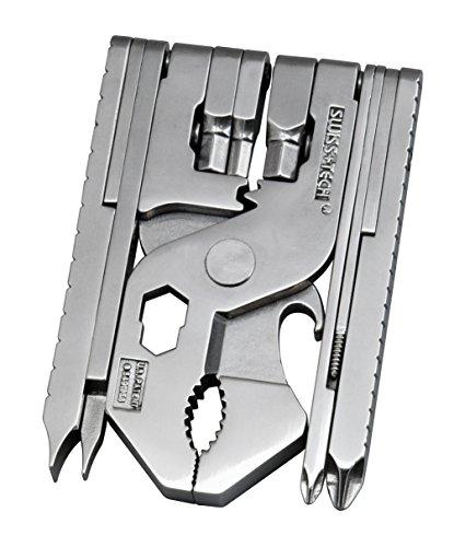 Swiss+Tech ST97130EU Edelstahl Poliert Micro Max Xtreme 22-in-1 Multifunktionswerkzeug