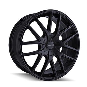 TOUREN TR60 Full Matte Black Wheel  17 x 7.5 inches /5 x 72 mm 42 mm Offset