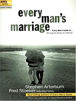 Paperback Every Man's Marriage : Every Man's Guide to Winning the Heart of a Woman [Large Print] Book