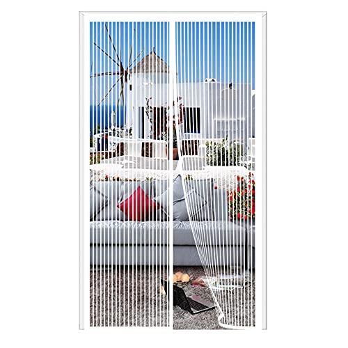 ERPENG Cortina Mosquitera 200x260cm Cierre automático Adsorción magnética Puerta Magnética Fácil de...
