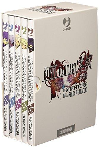 Final Fantasy Gaiden Type-0. Il mietitore dalla spada di ghiaccio. Collection box: 1-5