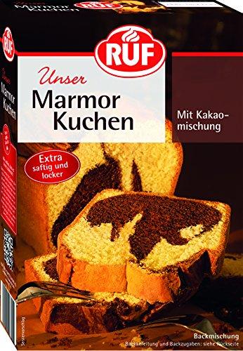 RUF Marmorkuchen Backmischung, 8er Pack (8 x 450 g Packung)