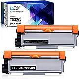 LxTek TN-2320 TN-2310 Toner Kompatible für Brother TN2320 für Brother MFC-L2700DN MFC-L2700DW MFC-L2720DW MFC-L2740DW DCP-L2500D DCP-L2520DW DCP-L2540DN DCP-L2560DW HL-L2300D HL-L2360DN HL-L2340DW