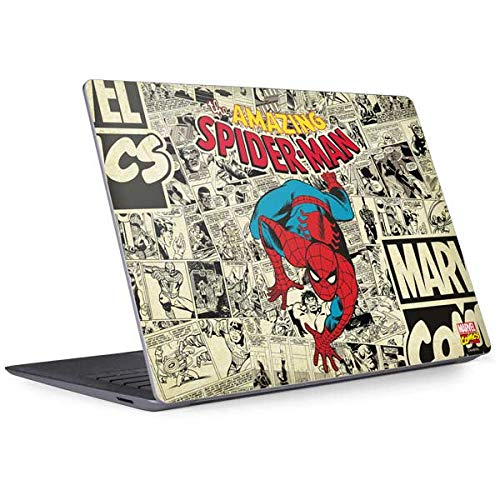 Skinit Decal Laptop Skin for Surface Laptop 3 13.5in - Officially Licensed Marvel/Disney Amazing Spider-Man Comic Design
