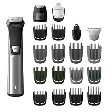 Philips Norelco Multi Groomer MG7750/49 - 23 piece, beard, body, face, nose, and ear hair trimmer, shaver, and clipper