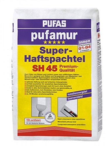 Pufas Pufamur SH45 Superhaftspachtel 10 kg