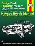 Haynes Dodge Dart and Plymouth Valiant, 1967-1976