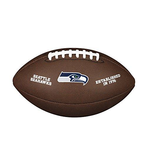 Wilson Unisex-Adult NFL LICENSED BALL SE American Football, BROWN, Uni