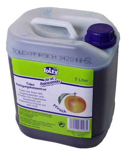 Tolex - WC Hygienespender   5 Liter Reinigungskonzentrat