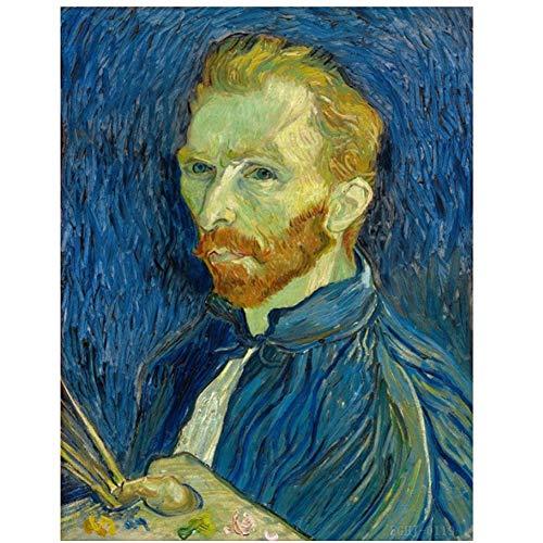 Op Canvas Schilderij Glas Grote Canvas Schilderijen Muur Kunst Canvas Vincent Van Gogh Weaver HD Print Schilderijen Op Canvas Poster -60x80cm Geen Frame