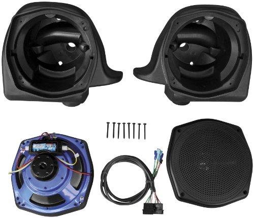 J&M Rokker Series XT Lower Fairing Speaker Kit for Harley Davidson 2006-13 Road - One Size